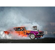 FRYZEM Tread Cemetery Burnout Photographic Print