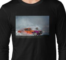 FRYZEM Tread Cemetery Burnout Long Sleeve T-Shirt
