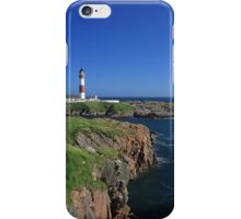 Buchan Ness Lighthouse iPhone Case/Skin