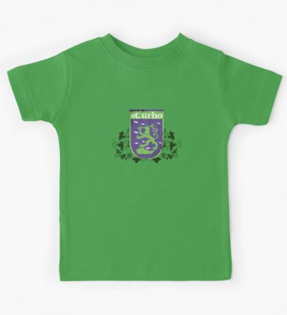 St. Urho Coat of Arms Kids Tee