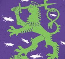 St. Urho Coat of Arms Sticker