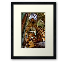 The Iconostasis of Peter the Great Framed Print