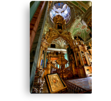 The Iconostasis of Peter the Great Canvas Print