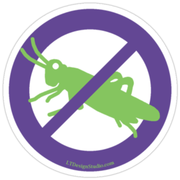 No Grasshoppers by LTDesignStudio