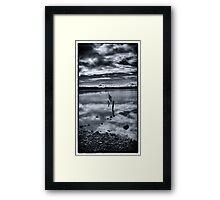 Coastal Piles - Ravenglass Framed Print