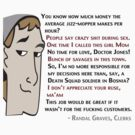Famous Quotes by Randal Graves in clerks by its-mr-towel