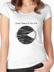 Great Games of the 80's Women's Fitted Scoop T-Shirt