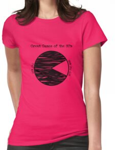 Great Games of the 80's Womens Fitted T-Shirt
