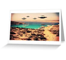 UFO Sighting by Raphael Terra Greeting Card