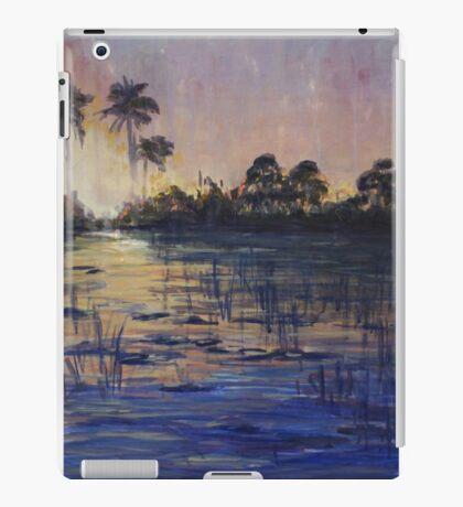 African sunset - Oil iPad Case/Skin