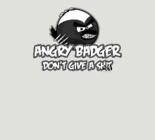 Angry Badger B/W Unisex T-Shirt