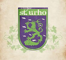 St. Urho Coat of Arms by LTDesignStudio