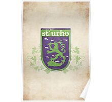 St. Urho Coat of Arms Poster