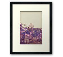 Old Himeji Framed Print