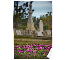 Chinese Cemetary - Beechworth, Victoria - 2 Poster