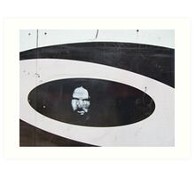 Chaos in ellipse - Sydney 2006 Art Print