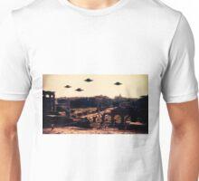UFO Rome by Raphael Terra Unisex T-Shirt