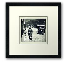 Streets of Ocotlan     Framed Print