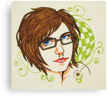 self nouveau Canvas Print