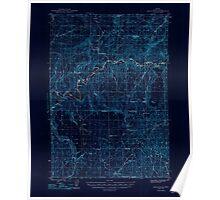USGS Topo Map Oregon Eagle Rock 282444 1948 62500 Inverted Poster