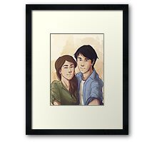 Jessa Selfie Framed Print