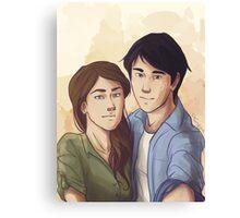 Jessa Selfie Canvas Print
