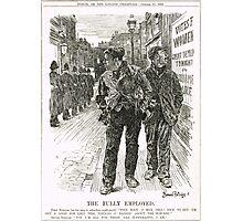 Bernard Partridge Suffragette Punch Cartoon 1908 Photographic Print