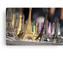 Eiffel Towers Canvas Print