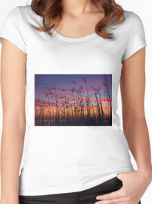 As the Wind Blows Women's Fitted Scoop T-Shirt