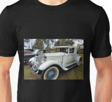 1930's Packard Roadster - White with Blue Trim Unisex T-Shirt
