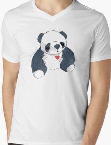 Cubworld Panda Mens V-Neck T-Shirt