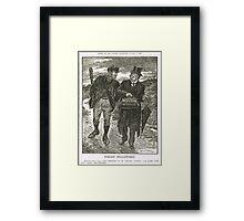 Socialism & Old Liberalism Punch 1909 Framed Print