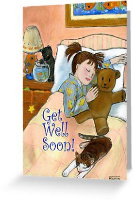 Get Well Soon! by Laura J. Holman