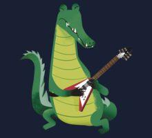 Crocodile Rock One Piece - Long Sleeve