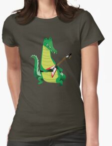 Crocodile Rock Womens Fitted T-Shirt