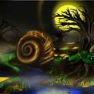 Monster concept art by Andrew Hennig