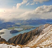 New Zealand - Mount Roy  by Steven  Sandner
