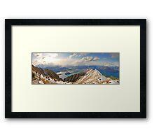 New Zealand - Mount Roy  Framed Print