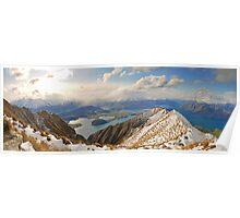 New Zealand - Mount Roy  Poster