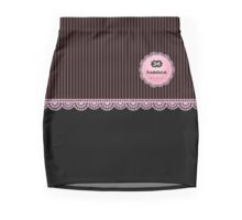 Pink Pinstripes skirt and top Mini Skirt