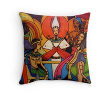 Gods and Goddesses: Osiris Throw Pillow