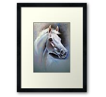 """Satan's War"" Honoring The Horse Series by Maureen Shelleau Framed Print"