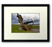 Left to Rot - Fleetwood Wrecks Framed Print