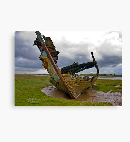 Left to Rot - Fleetwood Wrecks Canvas Print