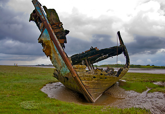 Left to Rot - Fleetwood Wrecks by Trevor Kersley