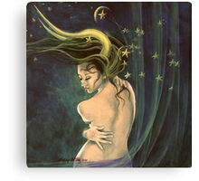"""Taurus"" - ...from ""Zodiac signs"" series Canvas Print"