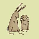Two Bunnies by Sophie Corrigan