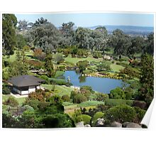 View from Symbolic Mountain, Cowra NSW Poster
