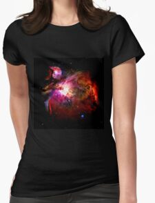 Orion Nebula No.1 Womens Fitted T-Shirt
