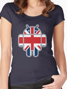 Britbot Women's Fitted Scoop T-Shirt